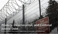 Poverty, Incarceration, and Criminal Justice Debt