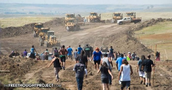 Oil Company Takes Dozers on 20-Mile Detour to 'Deliberately Destroy' Ancient Native American Sites