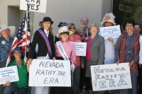 Nevada Rally for ratification of the Equal Rights Amendment