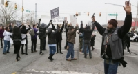 Activists disrupt traffic in Hammond to protest injustices
